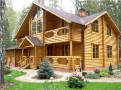 Дома деревянные строительство
