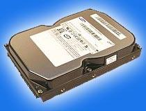 The hard drive with media base