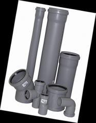 Труби для внутрішньої каналізації з поліпропілену