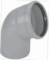 Колено для полипропиленовой трубы DN 50х90