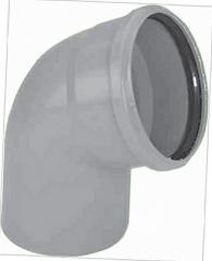 Колено для полипропиленовой трубы DN 110х90