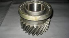 Gear wheel of a transfer case