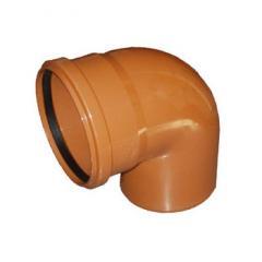 Колено для наружной канализации DN 110х45