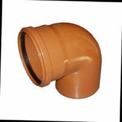 Колено для наружной канализации DN 160х30