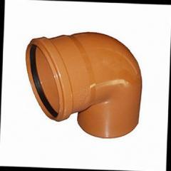 Колено для наружной канализации DN 160х45