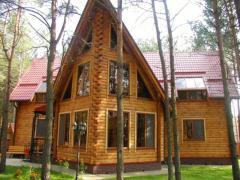 Дома деревянные из сухого профилированого бруса