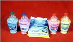 Соль морская ароматизированная для ванн.