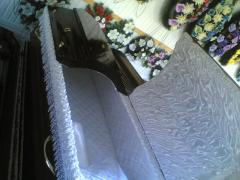 Ritual products, coffins, tease, domovin,