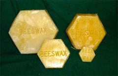 Wax for production medicinal and cosmetics (see