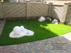 Decorative lawns Chernivtsi
