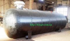 Резервуар для зберігання зріджених углеводородних газів (СУГ),    20 куб.м, підземне виконання