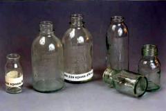 Бутылки стеклянные для крови