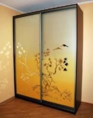 Sliding wardrobe 2000 x 600 x 2400 on 2 doors