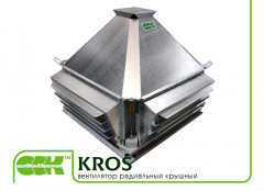 KROS ventilator roof groove in a yield of...