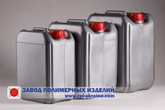 Blown plastic canisters 1-20 liters