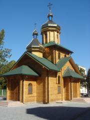 Храмы деревянные из сухого профилированного бруса