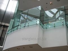 Перила стеклянные
