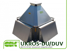 Fan UKROS-DU / DUV roof groove smoke torch...