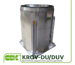 Вентилятор крышный радиальный KROV-DU/DUV