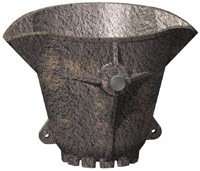 Foundry ladles, castings from 2 to 1500 kg.po to