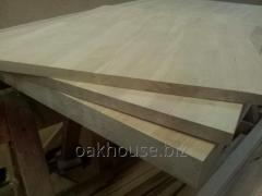 Oak board,  roughing and finishing furniture...