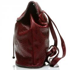 Рюкзак женский бордовый StellaMcCartney копия