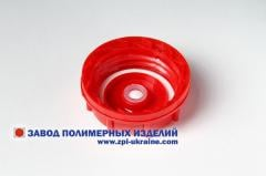 Covers plastic for canisters, capacities of DIN45,