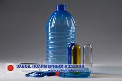 Канистры ПЭТ  5 литров «Кристал»