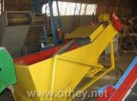 Машина вентиляционно-моечная Т1-КУМ-5 роликового или сеточного типа. Машины для мытья плодов и овощей