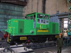 EKU-1dl's electric locomotive of