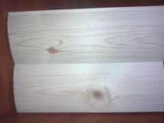 Bar, board cut, not cut, shalyovka, lath assembly