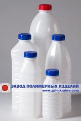 Бутылки ПЭТ окрашенные. Объемы от 0.3, 05, 09,1 л, 2 л. Предотвращают проникновение ультрафиолетовых лучей. Широкая горловина 38 мм