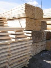 Bar, board cut, not cut, shalyovka, lath assembly