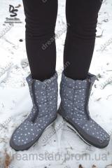 Женские зимние сапоги А-4 снежинка