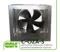 Вентилятор канальный осевой в шумоизолированном корпусе C-OZA-S