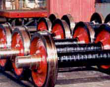 Mounted axles it is used in such equipment as
