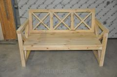 Bench Ukraine wooden wholesale