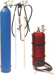 Gas-welding equipment: reducers, torches, cutting
