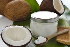 Кокосовое масло натуральное сыродавленное