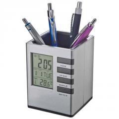 Карандашница с часами - 28715