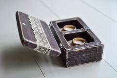 Шкатулки для обручальных колец ручной работы