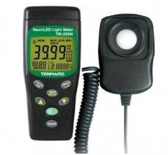 Люксметр TM-209N для измерения света неоновых и светодиодных источников