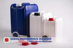 Емкости канистры от 1 до 25 литров, полиэтилен
