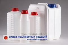 Полиэтиленовые бутылки, канистры  1,2,3,4,5,10,20