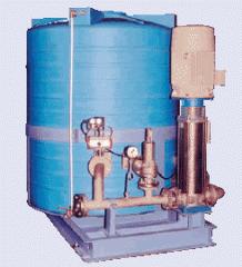 Водонасосная станция для подачи воды под давлением