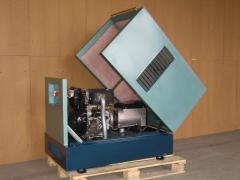 Diesel power station 8 KVA Lombardini (TLA-8)