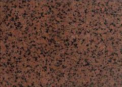 Granite tile and Simona Red's slabs