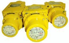 Gas counters rotor G10, G16 RGA-Ekh