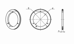 Кольцо уплотняющее тип 1-8