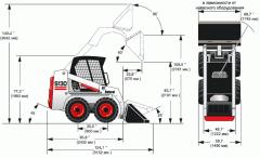 Miniloader wheel Bobcat S130